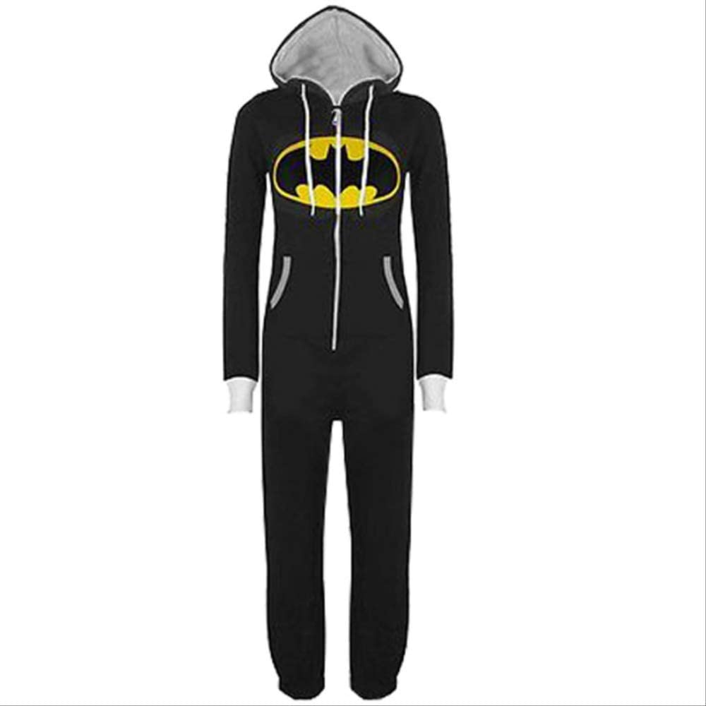 BELUNOT Adults Superman Batman Cosplay Hallowe 初売り Pajamas Jumpsuits 売却