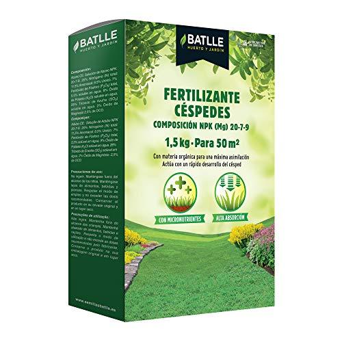Abonos - Fertilizante Césped Caja 1,5 Kg. - Batlle