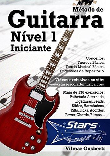 Método de Guitarra - Nível 1 - Iniciante (Portuguese Edition ...