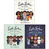 Vashti Harrison Little Leaders Collection 3 Books Set (Bold Women in Black History, Exceptional Men in Black History, Visionary Women Around the World)