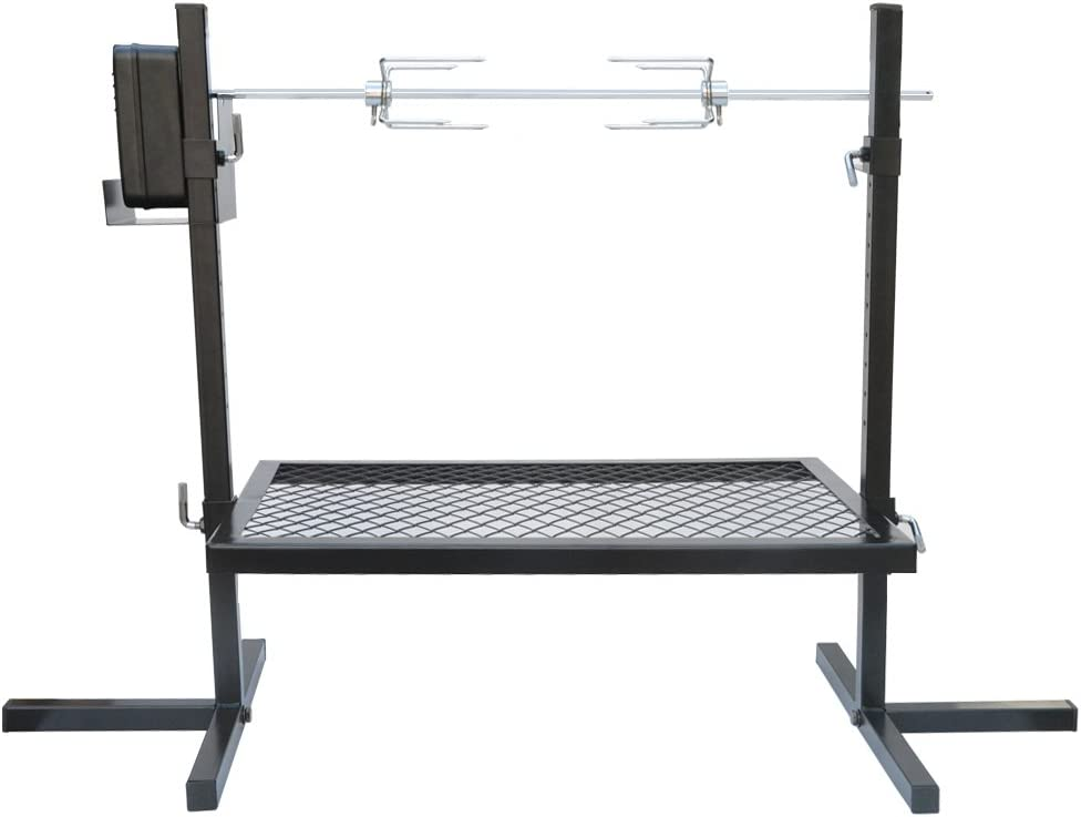 Finally popular brand onlyfire Adjustable Minneapolis Mall Outdoor Camping Rotisserie System Grill and