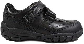 Start-rite Brogue SNR Kids Shoes Black Leather Boys /& Girls School Shoes Sizes L4.5-L9