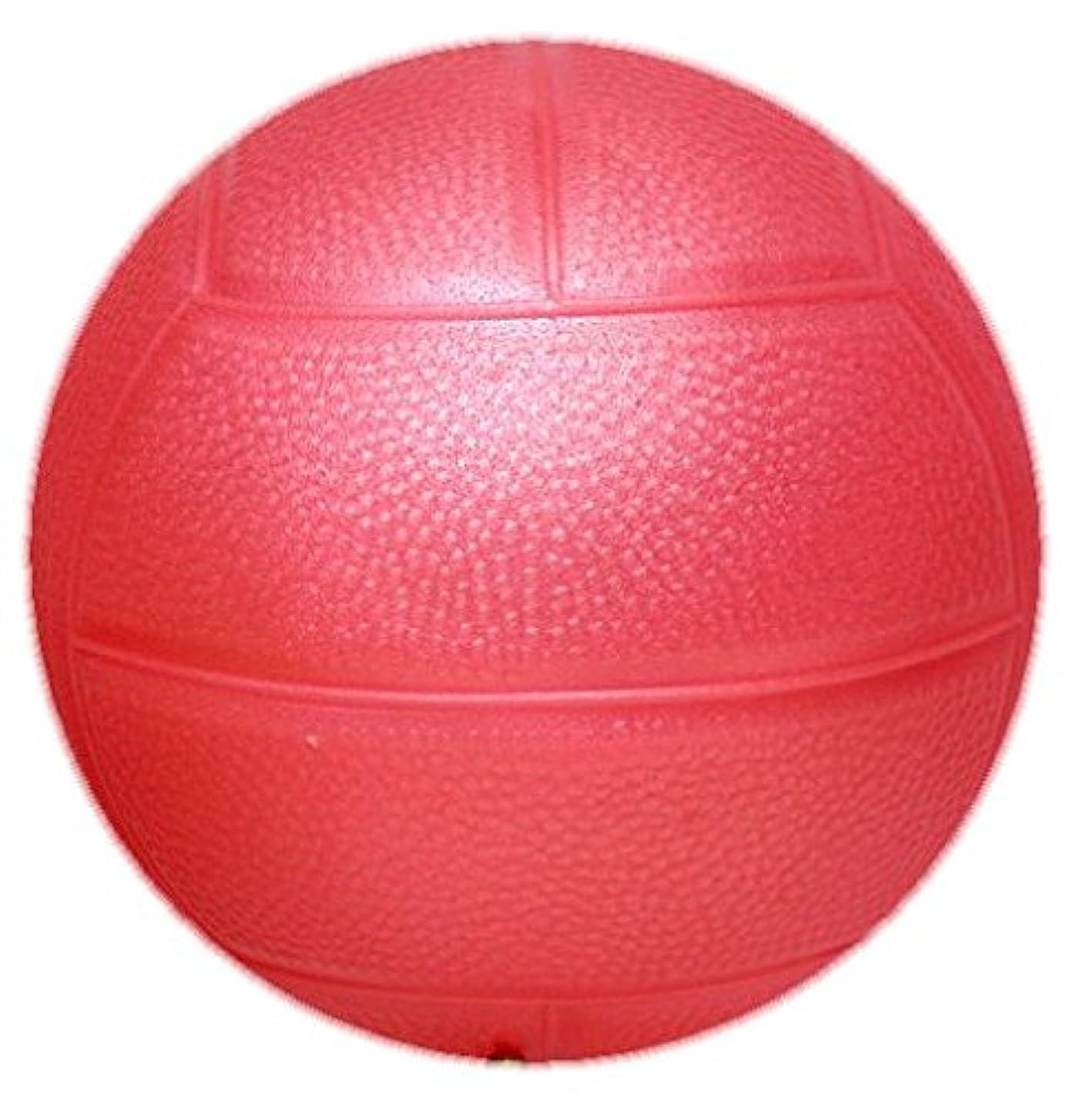 柔らかさ優先レジデンス【マイカラーボール】 (6インチ/直径15㎝) マイカラードッチボール (パール色) (1個セット) (桃)
