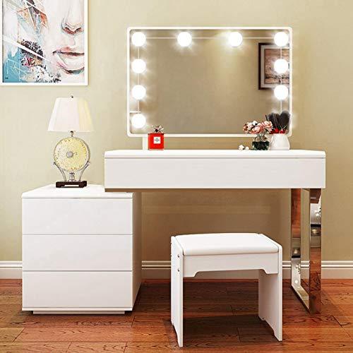 Emoshayoga Spiegellicht Makeup Light USB-Ladegerät für Beleuchtung