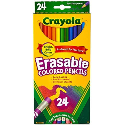 Erasable Colored Pencils