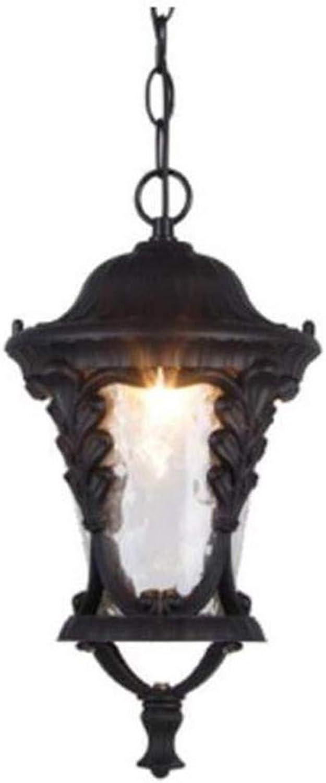 Europischer Art-Antiken-im Freien wasserdichte Leuchter-Balkon-Galerie-Garten-Dekorations-Restaurant-amerikanischer lndlicher Eisen-Leuchter