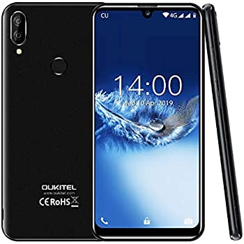 2019) 4G Smartphone Libres,OUKITEL C16 Pro Android 9.0 móvil ...
