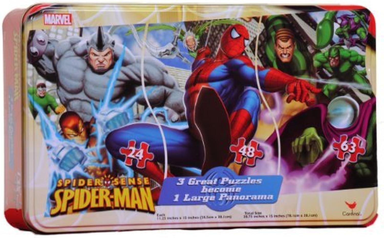autorización Spiderman Panorama Puzzle Puzzle Puzzle in a Tin by Spider-Man  Todos los productos obtienen hasta un 34% de descuento.