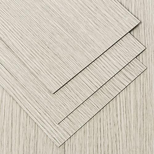 7 piezas de pegatinas de piso autoadhesivas de grano de madera para el hogar, piso de vinilo autoadhesivo pelado y adhesivo, piso impermeable de PVC antideslizante y resistente al desgaste