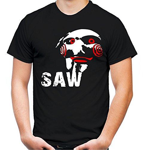 Uglyshirt89 Jigsaw T-shirt voor heren en heren, Halloween Saw Horror cadeaukostuum, M3