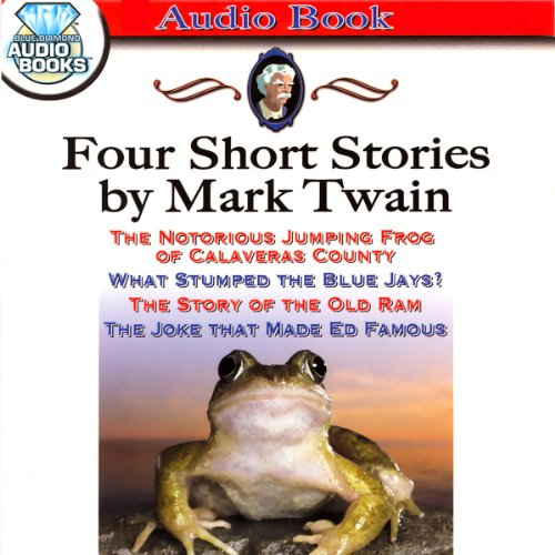 Four Short Stories by Mark Twain audiobook cover art