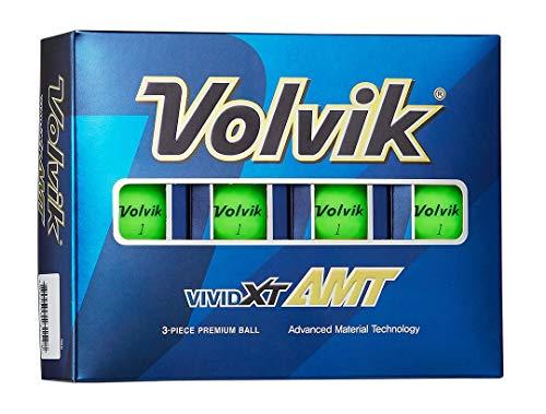 Volvik Vivid XT AMT Golf Balls - Green