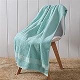 2 unids de Engrosamiento de algodón 70x140cm Alrededor de 450 g de Color de Moda Simple Calidad de baño de Calidad Toalla...