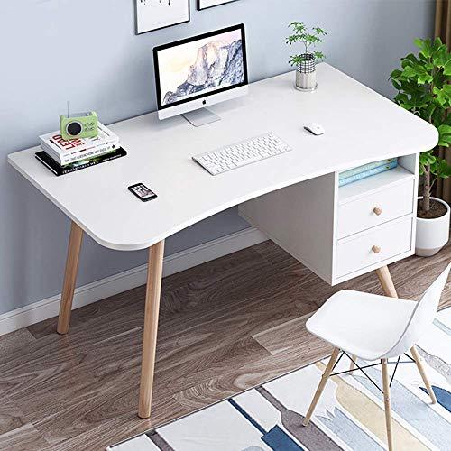 Alaeo Arbeitstisch Computer Tische Bürotisch Modernen Pc Tisch Holz Computertisch Konferenztisch Schreibtisch Büro Home Büro Nein Stuhl-100x50x73cm B
