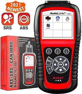 Autel Autolink AL619 OBD2 Scanner ABS SRS Airbag Warning Light Scan Tool, Turn Off Check Engine Light Car Diagnostic Tool, Quick Test Engine System Code Reader