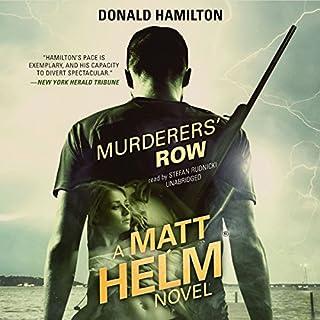 Murderers' Row audiobook cover art