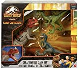 Jurassic World Camp Cretaceous Isla Nublar Ceratosaurus Clash Set with Ceratosaurus and 2 Velociraptors
