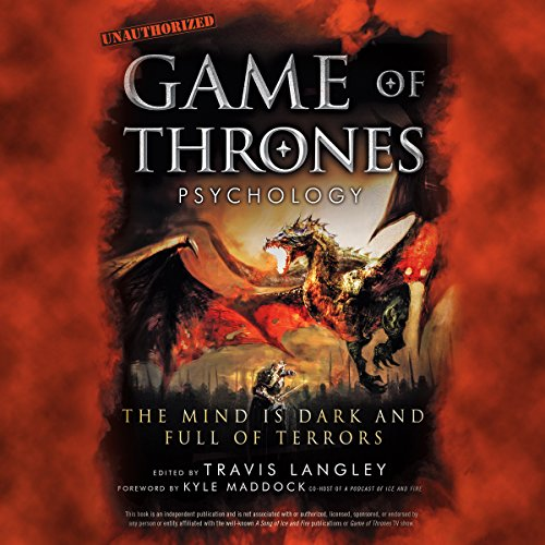 Game of Thrones Psychology audiobook cover art