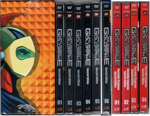 Ufo Robot Goldrake Vol.01-02-03 - Collezione Completa (19 DVD) Edizione Italiana