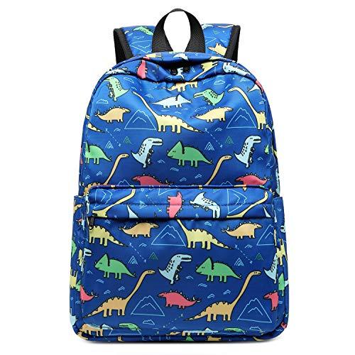 CAMTOP Preschool Backpack for Kids Boys Toddler Backpack Kindergarten School Bookbags Cute DinosaurDark Blue