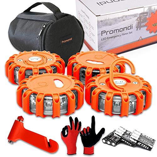 Promondi LED Road Flare Sets