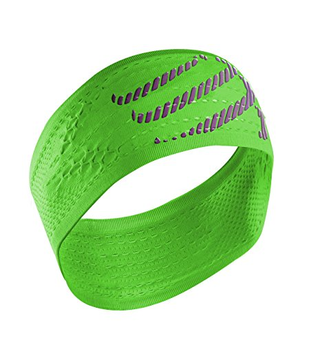 COMPRESSPORT Headband On/off Bandana On/off, Verde (Fluo Green)