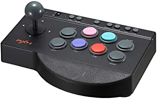 PXN 0082 Arcade Stick PC Street Fighter USB Arcade Stick for PS3/ PS4/ Xbox One/Switch/Window PC