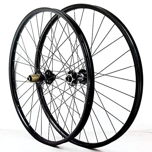 MZPWJD Ruedas Bicicleta Montaña Ruedas Juego Freno De Disco 27.5/29 Pulgadas Bicicleta Rueda Llanta De MTB 32 Agujeros Buje Eje Pasante 7/8/9/10/11/12 Velocidad 1955g (Size : 27.5inch, Type : A)