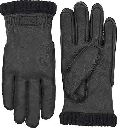 HESTRA Handschuhe Deerskin Prima Ribbed schwarz (200) 10