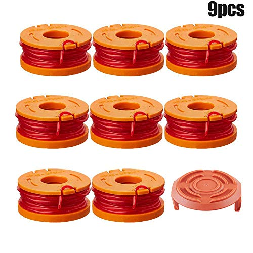 Find Bargain Finetoknow Grass Rope, Grass Trimmer, Spool,Edger Spools WA6531 GT Spool Caps Kit Grass...