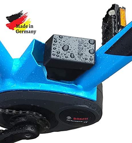BeDiCo Preis MwSt gesenkt Bosch Pin Abdeckung E-Bike Schutzabdeckung für Bosch Rahmen Akku-Aufnahme der SerieActive-, Performance-, Line- und CX ab 2014.