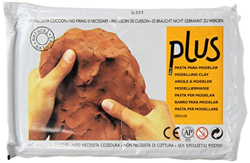 ACTIVA Plus Clay Natural Self-Hardening Clay Terra Cotta 2.2 pounds