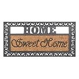 AS4HOME Kokosfußmatte Fußabstreifer Sweet Home 4