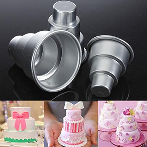 mini 3 tier cake pan - 9