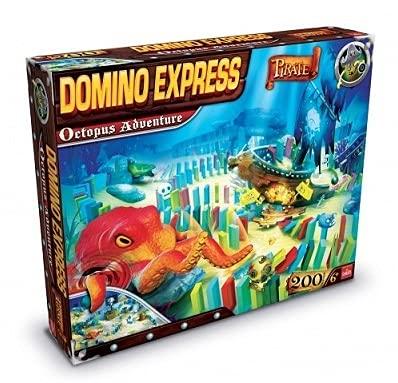 Jouets Grand Coffret Domino Express Pirate : Octopus Adventure - Jeu de Construction - Collector