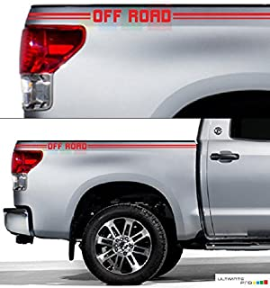 Bubbles Designs 2X Decal Sticker Compatible with Toyota Tacoma Tundra No: 189