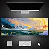 Landscape Printing Large 900X400Mm Xl Laptop Mouse Pad Notebook Computer Pc Keyboard Mat 800X300X3Mm