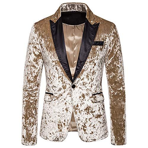 Men's Striped Blazer Jacket Lightweight Suits Slim Fit Casual Jacket Modern Jacket All-Season Classic Design Mens Long Sleeve Party Dress Suit Stylish Dinner Tuxedo Jacket Wedding Blazer XL