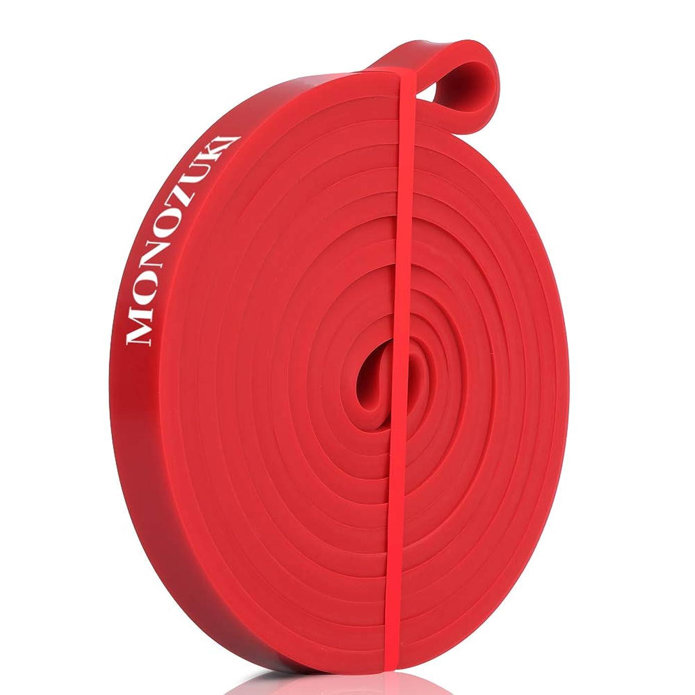 その後喜んで迷彩MONOZUKI フィットネスチューブ エクササイズバンド トレーニングチューブ 天然ゴム 懸垂 補助 ゴムチューブ 筋トレ ストレッチ 懸垂アシスト 4レベル負荷