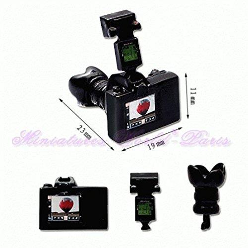 Miniatures World - Metalen reflexcamera voor miniatuurdecors en poppenhuizen in schaal 1:12