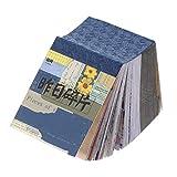 MILISTEN 400 Fogli Scrapbooking Carta Materiale di Natura Vintage Carta Decorativa Mestieri di Carta per...