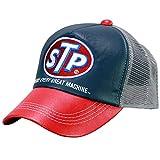 STP(エスティーピー) バイク STP20702S メッシュキャップ (レッド/ネイビー)