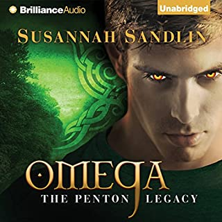 Omega     The Penton Legacy, Book 3              By:                                                                                                                                 Susannah Sandlin                               Narrated by:                                                                                                                                 Amy McFadden                      Length: 9 hrs     508 ratings     Overall 4.3
