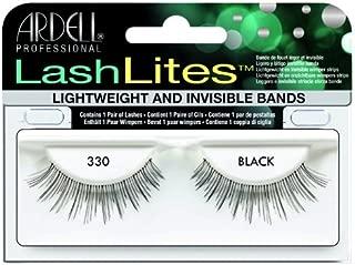 Ardell Lashlites False Eyelashes - #330 Black (Pack of 2)