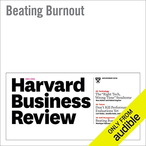 Beating Burnout audiobook cover art
