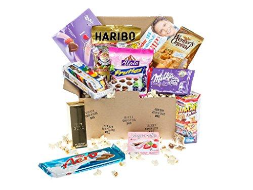 Scatola di caramelle e cioccolato tedeschi BOX n°3