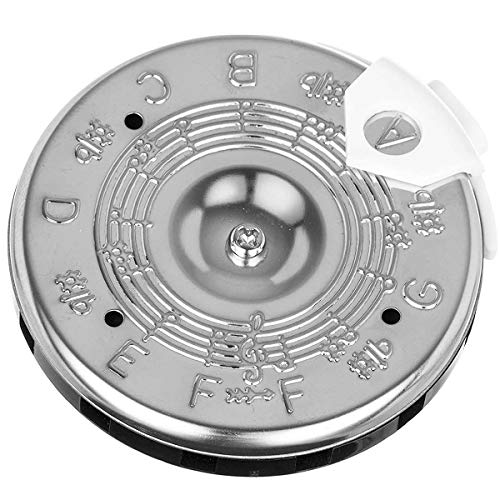 MUPOO 13 Notes Pitch Pipe F-F Tuner for Tunning Guitar Bass (F-F)
