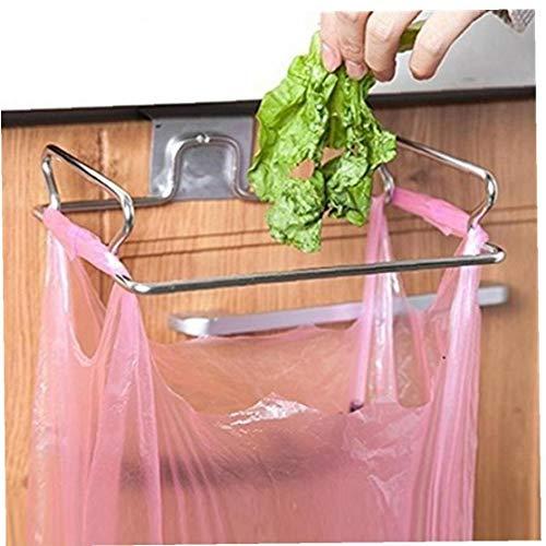Bongles Küche Metall Schrank Hängend Trash-Rack Speicher Garbage Müllsack Dosenhalter Hängeschrank Trash-Rack