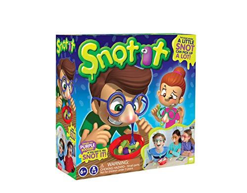 KD Games S18610 Snot IT Brettspiel, rot, gelb, grün, blau