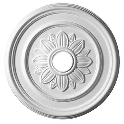 HOMESTAR Stuckrosette / Deckenrosette Flora, Durchmesser 52 cm, 25250
